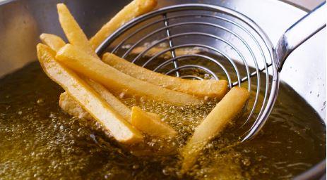 friture sans odeurs